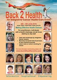 2014 Back2health Conference A4 leaflet